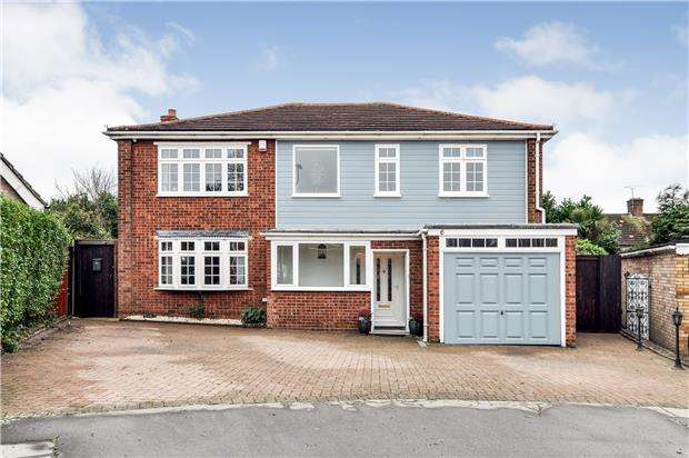 5 Bedrooms Detached House for sale in Haling Park Gardens, SOUTH CROYDON, Surrey, CR2 6NP