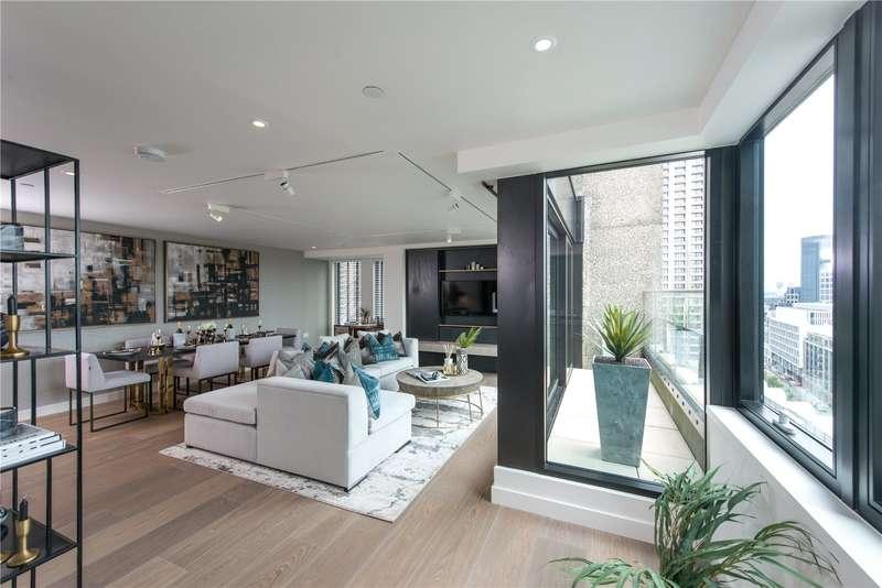 3 Bedrooms Flat for sale in Fann St, Barbican, City Of London, EC2Y