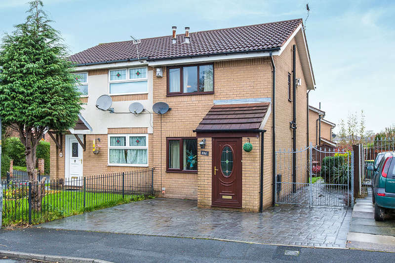 2 Bedrooms Semi Detached House for sale in Ronaldsway, PRESTON, PR1