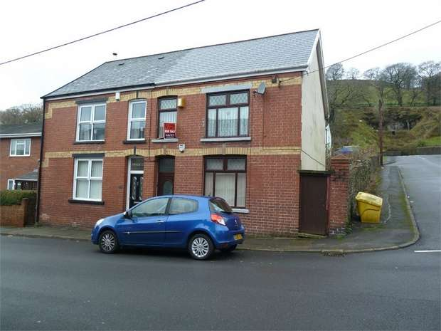 3 Bedrooms Semi Detached House for sale in Humphreys Terrace, Caerau, Maesteg, Mid Glamorgan
