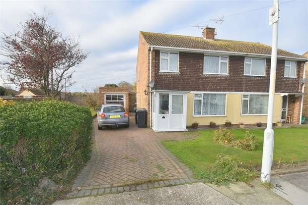 3 Bedrooms Semi Detached House for sale in St Lukes Close, Westgate-on-Sea, Kent