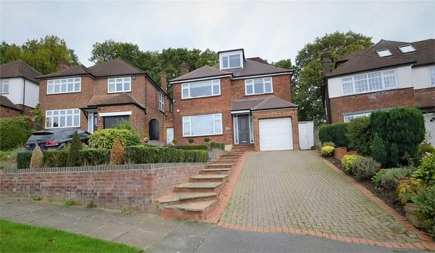5 Bedrooms Detached House for sale in The Reddings, Mill Hill, NW7