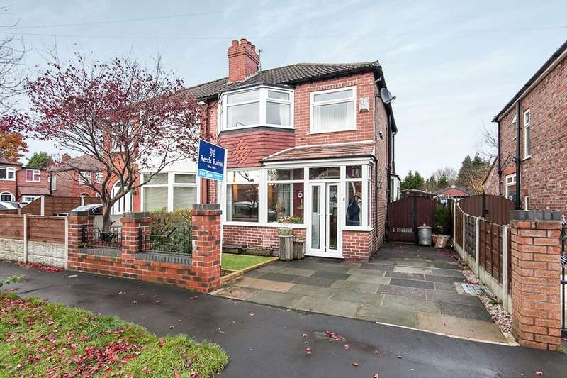 3 Bedrooms Semi Detached House for sale in Olive Road, Timperley, Altrincham, WA15