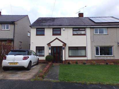 4 Bedrooms Semi Detached House for sale in St. Marys Drive, Northop Hall, Mold, Flintshire, CH7