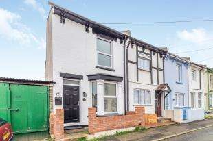 2 Bedrooms End Of Terrace House for sale in Queens Road, Gillingham, Kent, .