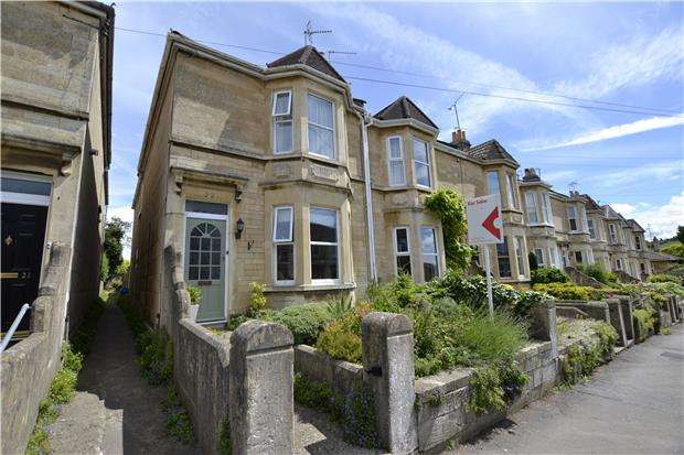 3 Bedrooms End Of Terrace House for sale in Charmouth Road, BATH, BA1 3LJ