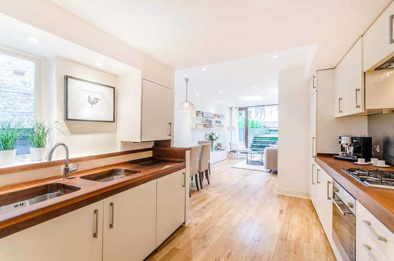 2 Bedrooms Flat for sale in Kingsgate Road, West Hampstead, NW6