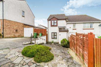 2 Bedrooms Semi Detached House for sale in Staddiscombe, Plymstock, Devon