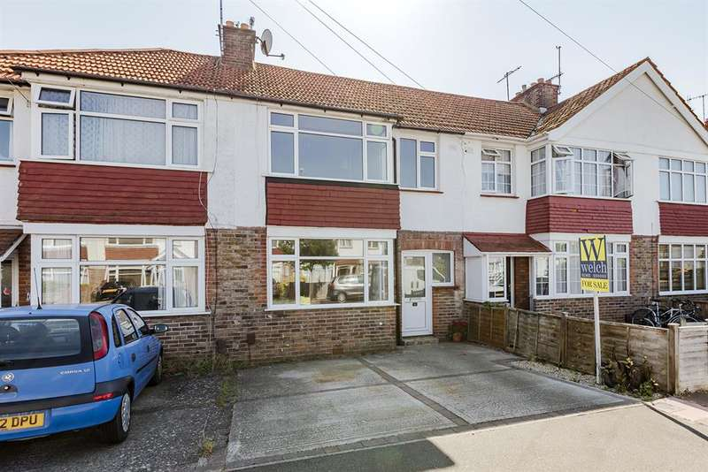 3 Bedrooms Terraced House for sale in Ripley Road, Worthing, West Sussex, BN11 5NH