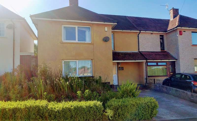 3 Bedrooms Semi Detached House for sale in Heol Y Felin, Caerphilly