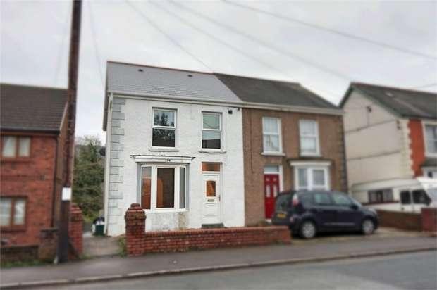 2 Bedrooms Semi Detached House for sale in Swansea Road, Trebanos, Pontardawe, Swansea, West Glamorgan