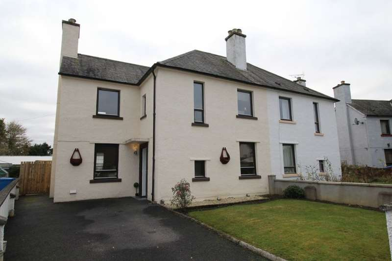 4 Bedrooms Semi Detached House for sale in Burns Crescent, Dingwall, IV15