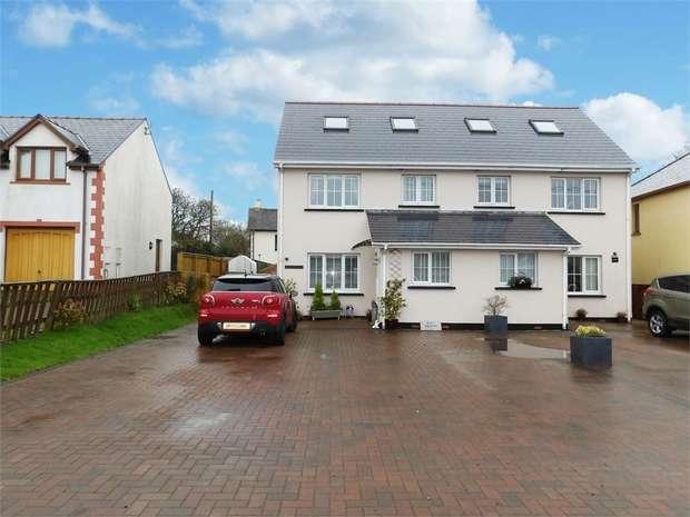 3 Bedrooms Semi Detached House for sale in Wooden, Saundersfoot, Pembrokeshire