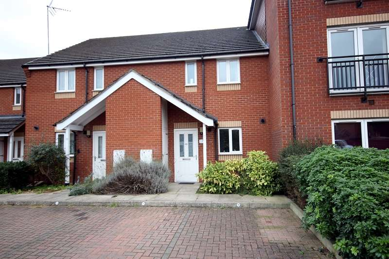 3 Bedrooms Terraced House for sale in Corn Mill Close, Wellingborough, Northamptonshire. NN8 1FE