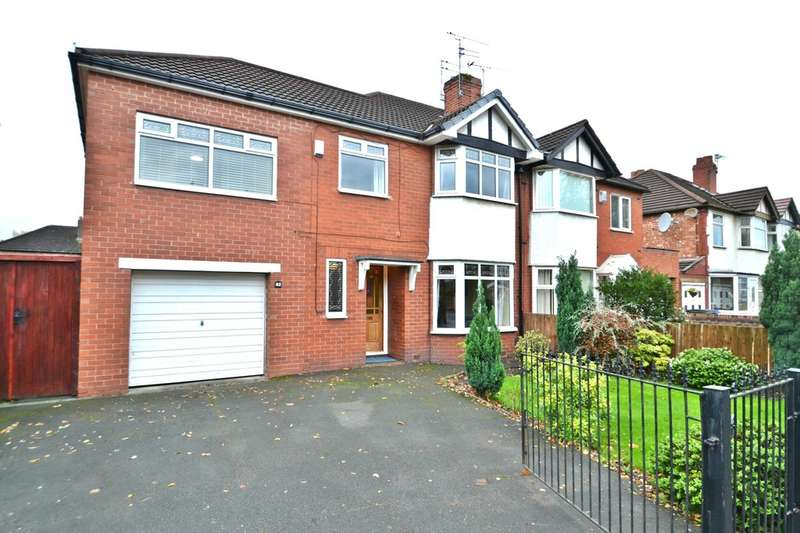 4 Bedrooms Semi Detached House for sale in Cheadle Road, Cheadle Hulme