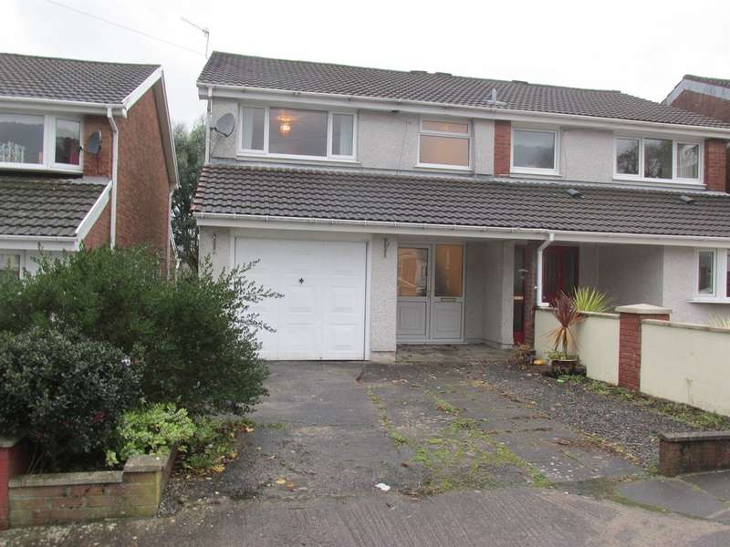 3 Bedrooms Semi Detached House for sale in Pinecroft Avenue, Aberdare