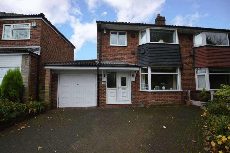 3 Bedrooms Semi Detached House for sale in Warwick Avenue, Whitefield, Manchester, M45