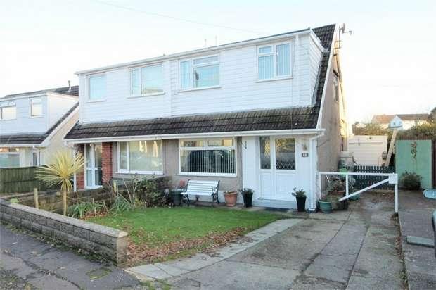 3 Bedrooms Semi Detached House for sale in Denver Road, Fforestfach, Swansea, West Glamorgan