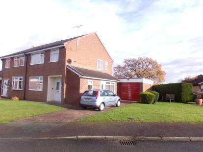 3 Bedrooms Semi Detached House for sale in Ullswater Avenue, Winsford, Cheshire
