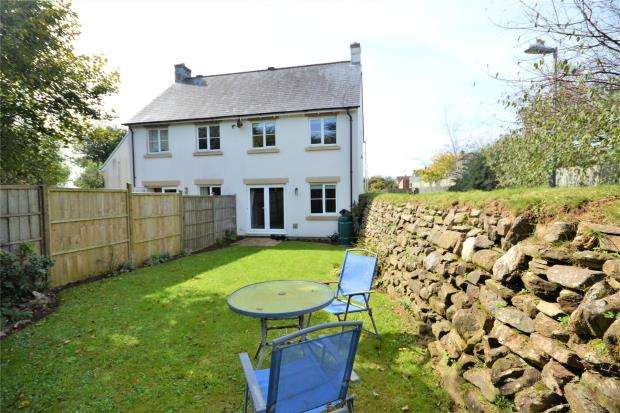 3 Bedrooms Semi Detached House for sale in Boconnoc Avenue, Callington, Cornwall
