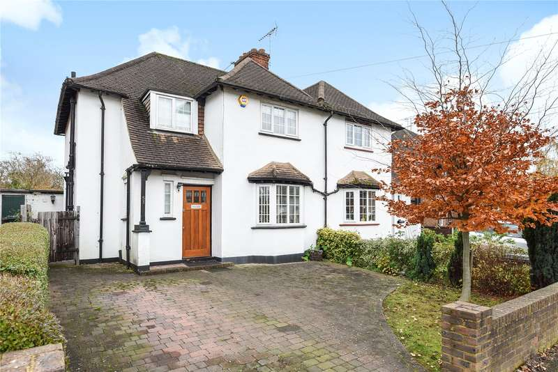 3 Bedrooms Semi Detached House for sale in Middleton Road, Mill End, Rickmansworth, Hertfordshire, WD3
