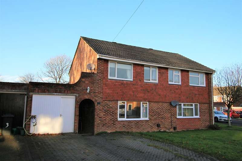 3 Bedrooms Semi Detached House for sale in Braemar Drive, Oakley, Basingstoke, RG23