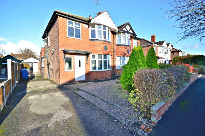 3 Bedrooms Semi Detached House for sale in Palmer Avenue, Cheadle