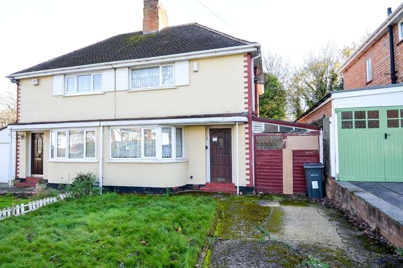 3 Bedrooms Semi Detached House for sale in Park View Road, Northfield, Birmingham, B31