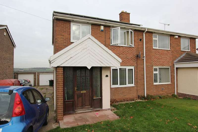2 Bedrooms Semi Detached House for sale in Ullswater Road, Mexborough, South Yorkshire, S64 0PH