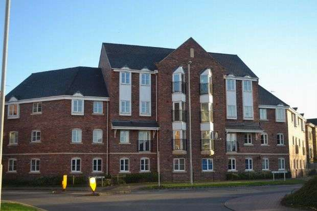 2 Bedrooms Flat for sale in Henry Bird Way, Southbridge, Northampton NN4 8GD