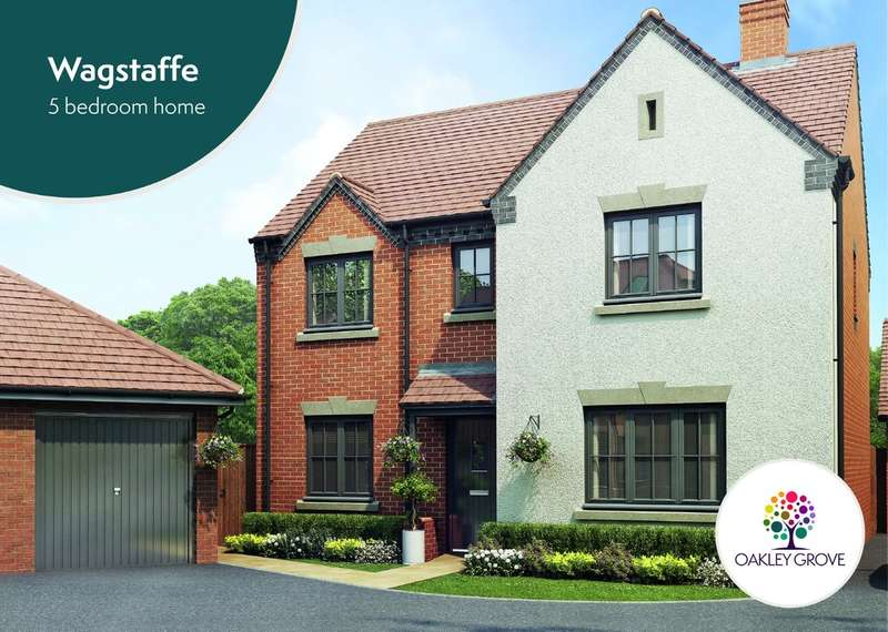 5 Bedrooms Detached House for sale in Plot 64 Wagstaffe Oakley Grove