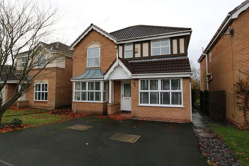4 Bedrooms Detached House for sale in Percival Way, St. Helens, St. Helens, Merseyside, WA10 4GX
