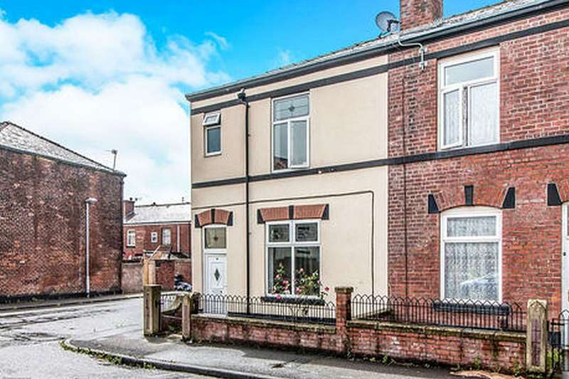 3 Bedrooms End Of Terrace House for sale in Andrew Street, Bury, Greater Manchester, BL9 7HD