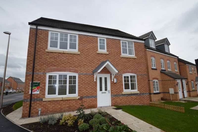 4 Bedrooms Detached House for sale in Redshank Place, Sandbach, CW11