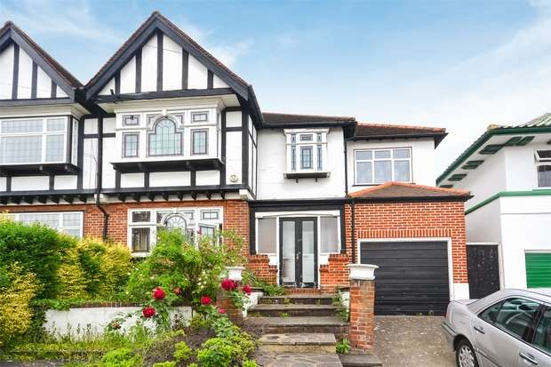 6 Bedrooms Semi Detached House for sale in Pasture Road, Sudbury Court Estate, Middlesex