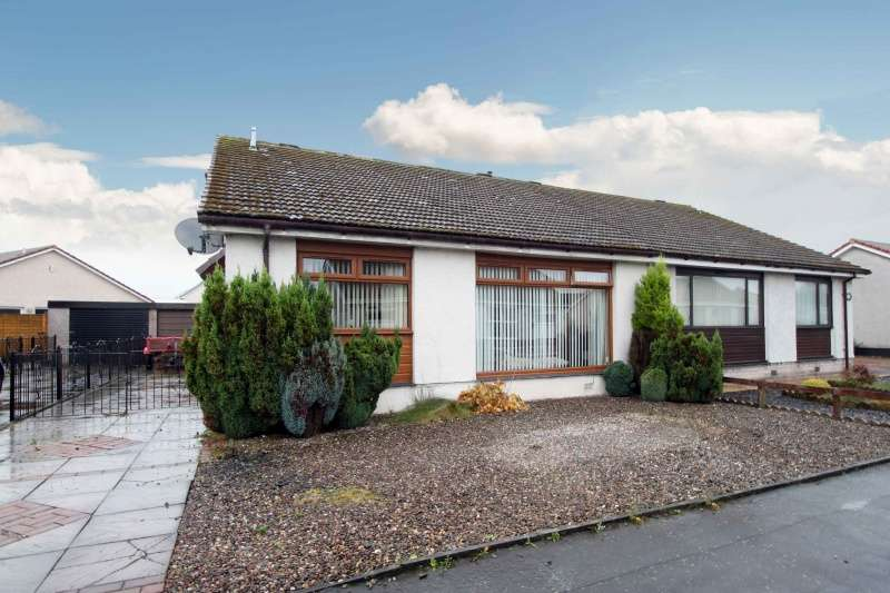 3 Bedrooms Semi Detached Bungalow for sale in Cedar Crescent, Thornton, Kirkcaldy, Fife, KY1 4BE