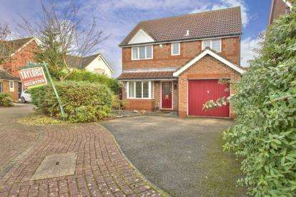 4 Bedrooms Detached House for sale in Burmoor Close, Huntingdon, Cambs