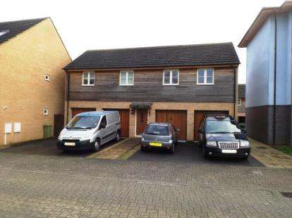 2 Bedrooms Flat for sale in Flexerne Crescent, Ashland, Milton Keynes