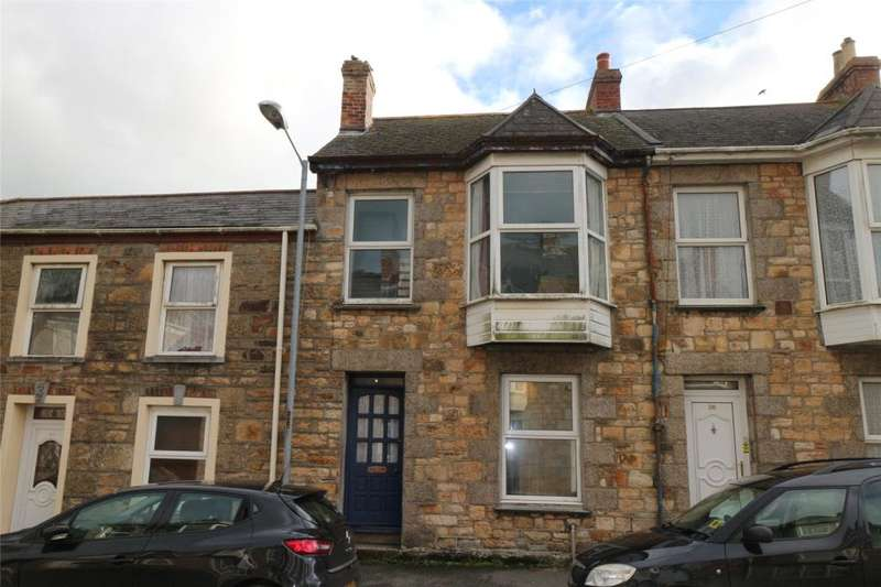 3 Bedrooms Terraced House for sale in Wellington Road, Camborne, Cornwall