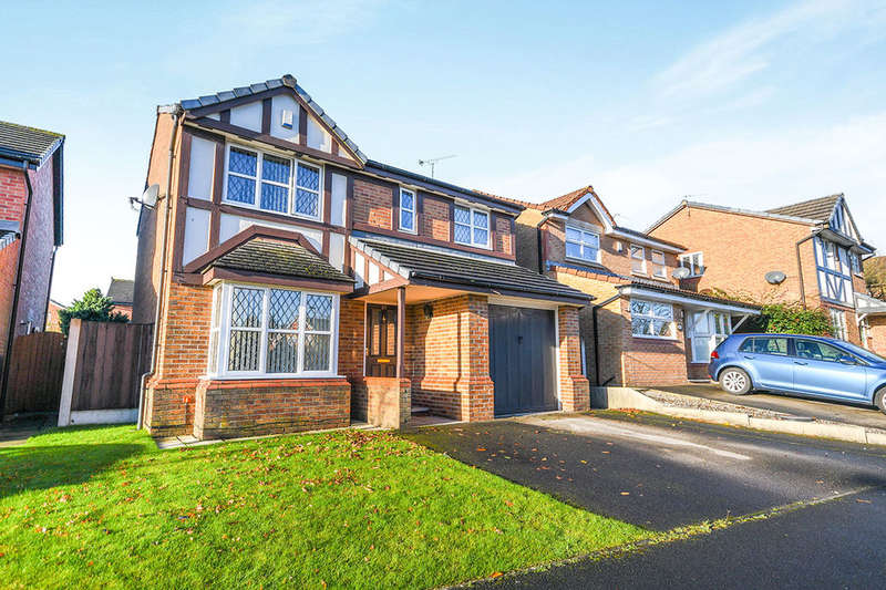 4 Bedrooms Detached House for sale in Lloyd Road, Prescot, L34