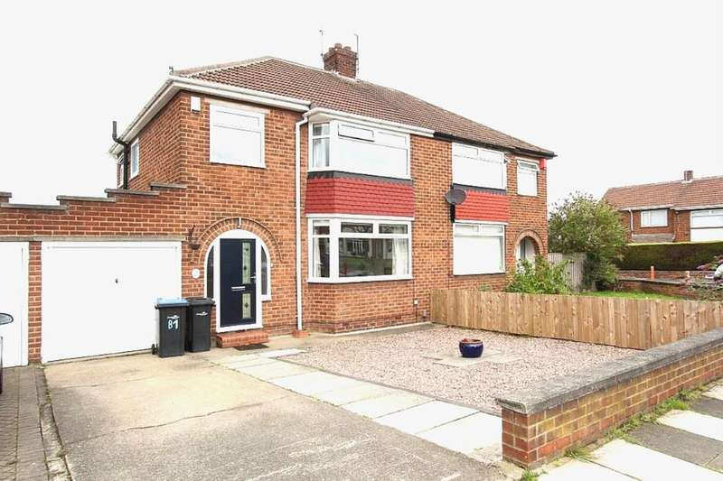 3 Bedrooms Semi Detached House for sale in The Oval, Middlesbrough, TS5