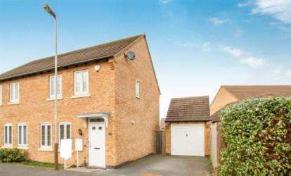 3 Bedrooms Semi Detached House for sale in Buddon Close, Bradgate Heights, Leicester, Leicestershire