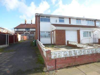 3 Bedrooms End Of Terrace House for sale in Field Lane, Litherland, Liverpool, Merseyside, L21