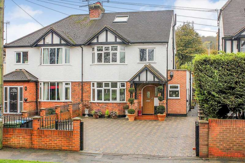 4 Bedrooms Semi Detached House for sale in SUPERBLY presented and EXTENDED 4 BED semi detached home with ENSUITE to MASTER in BOXMOOR.