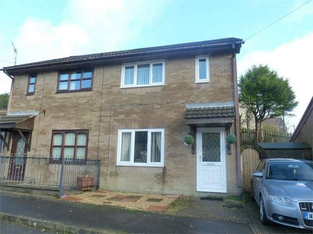 3 Bedrooms Semi Detached House for sale in Dan Y Bryn, Caerau, Maesteg, Mid Glamorgan
