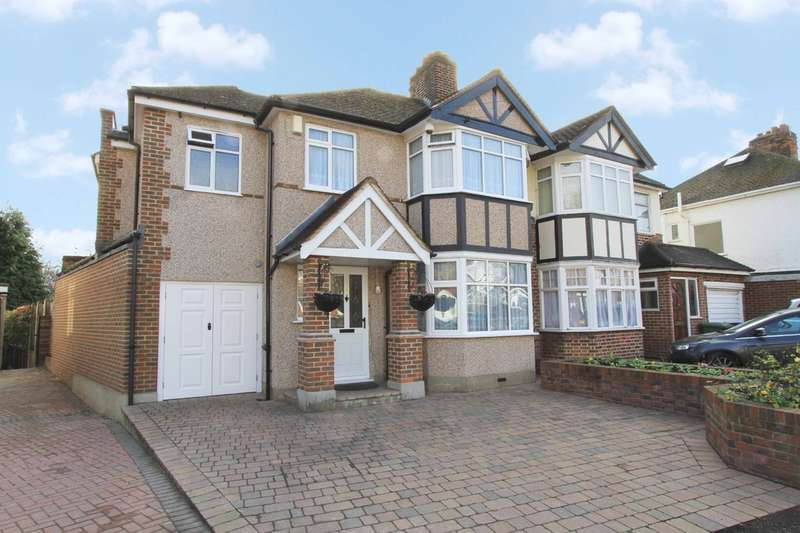 4 Bedrooms Semi Detached House for sale in Southbourne Close, Pinner
