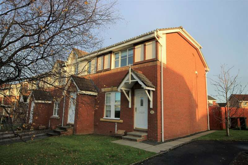 3 Bedrooms Terraced House for sale in Glendeveron Way, Motherwell
