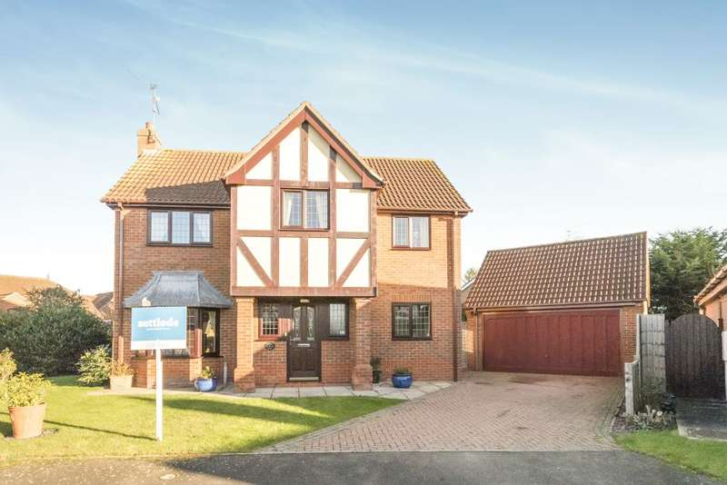 4 Bedrooms Detached House for sale in Bramley Close, Heckington, NG34 9TE