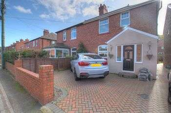 3 Bedrooms Semi Detached House for sale in Greencroft Villa, Cricket Terrace, Burnopfield, NE16 6QL