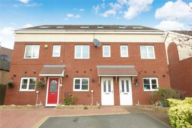 3 Bedrooms Town House for sale in The Waterfront, Exhall, Coventry, Warwickshire